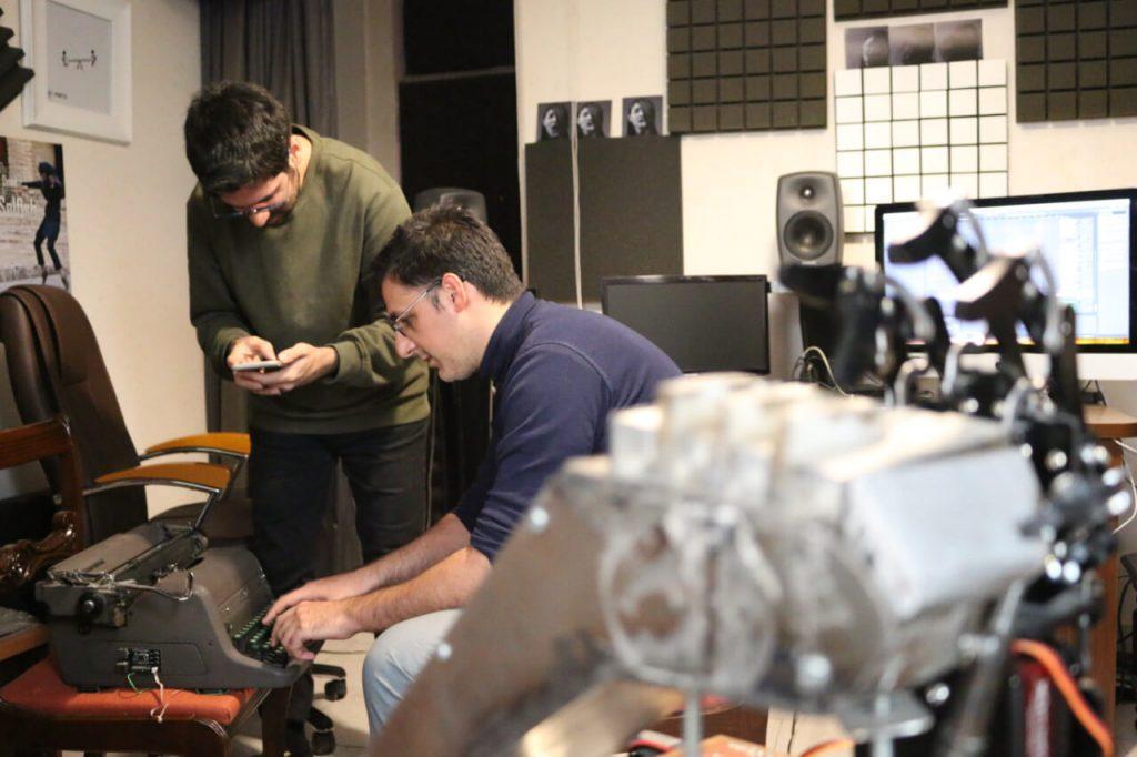 Bamdad, Hooshyar and the Typewriter - 30M Records