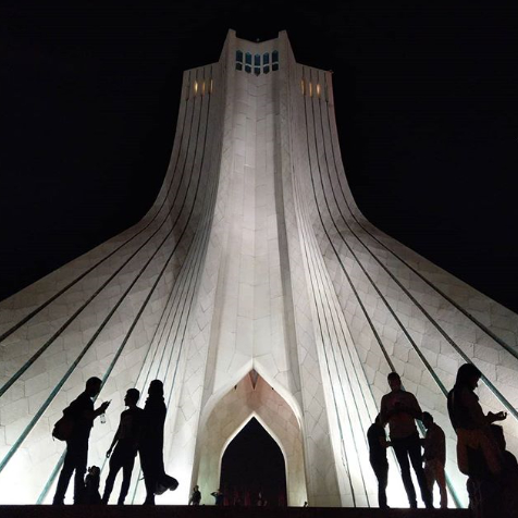 After a concert at Azadi Tower - 30M Records